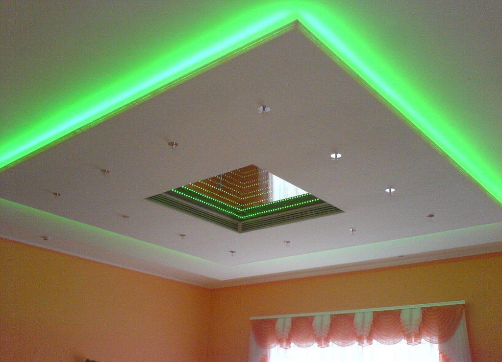 Покрытие потолка гипсокартоном — это не только просто и выгодно, но и надежно
