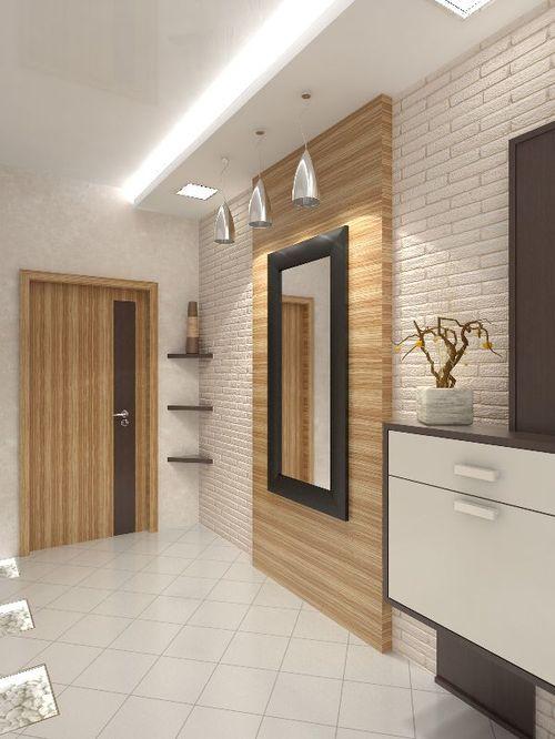 Потолки из гипсокартона - это отличный вариант для того, чтобы придать коридору современный вид