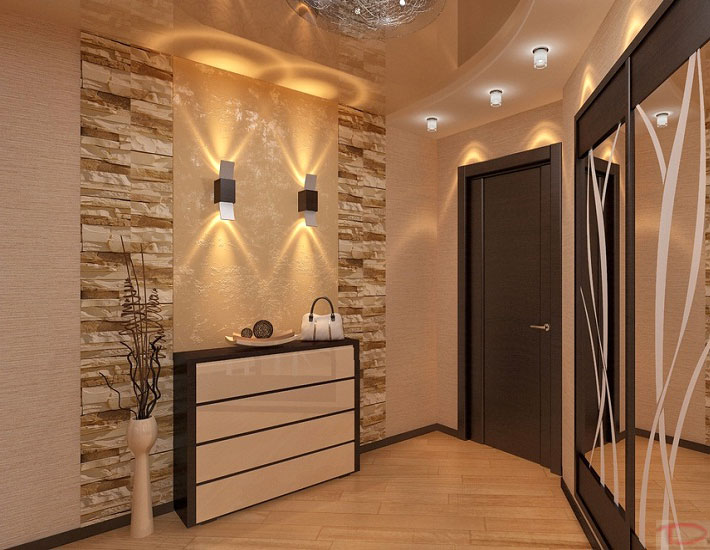 Натяжные потолки стают популярными для небольших, малоосвещенных природным светом комнат