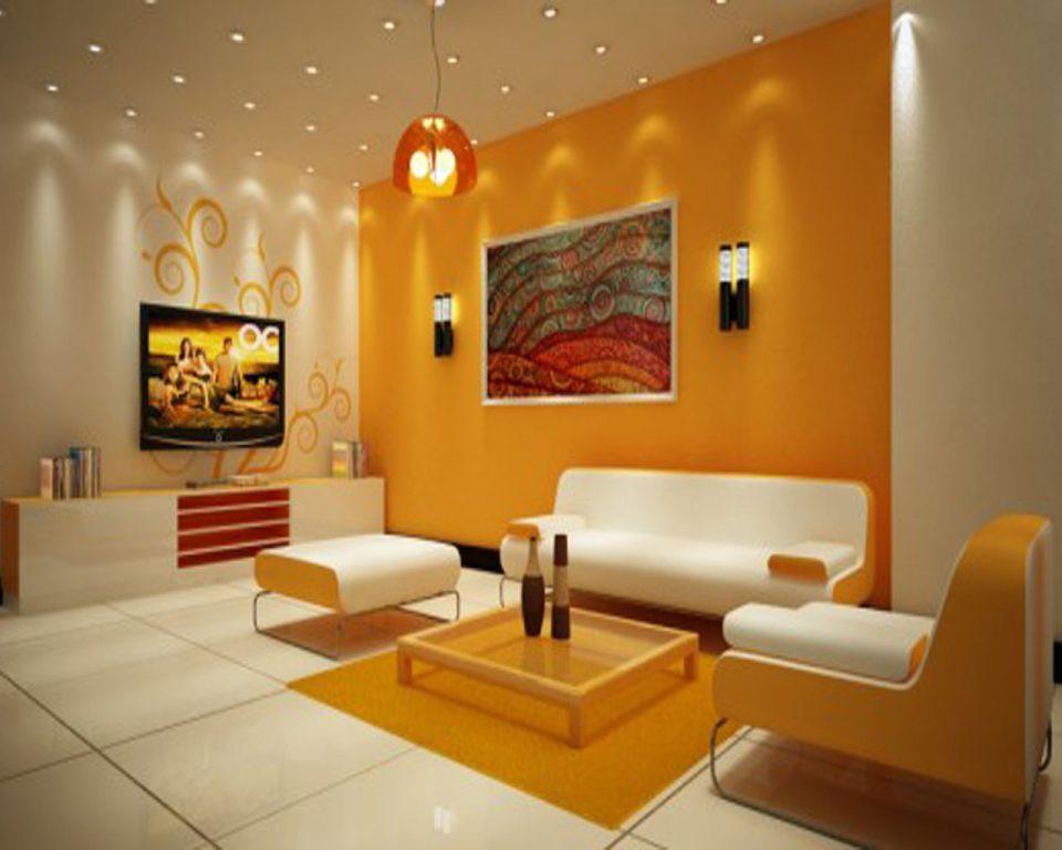 Комбинирование обоев - это отличная идея разнообразить интерьер комнаты