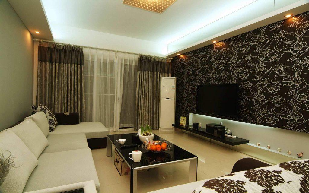 Обои являются одним из основных элементов оформления интерьра гостиной и они должны отлично сочетаться с мебелью
