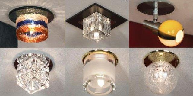 Накладные светильники не встраиваются в опорную конструкцию потолка, не подвешиваются к ней, а устанавливаются непосредственно на нее