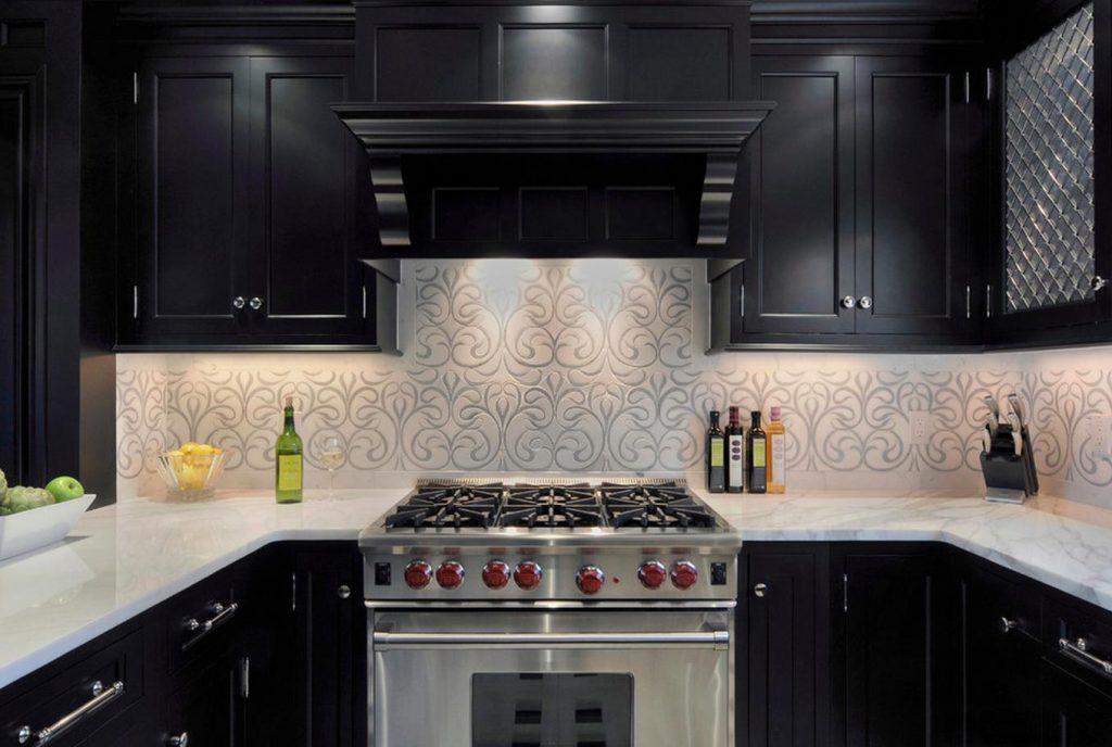 Моющиеся обои - отличный материал для отделки стен на кухне