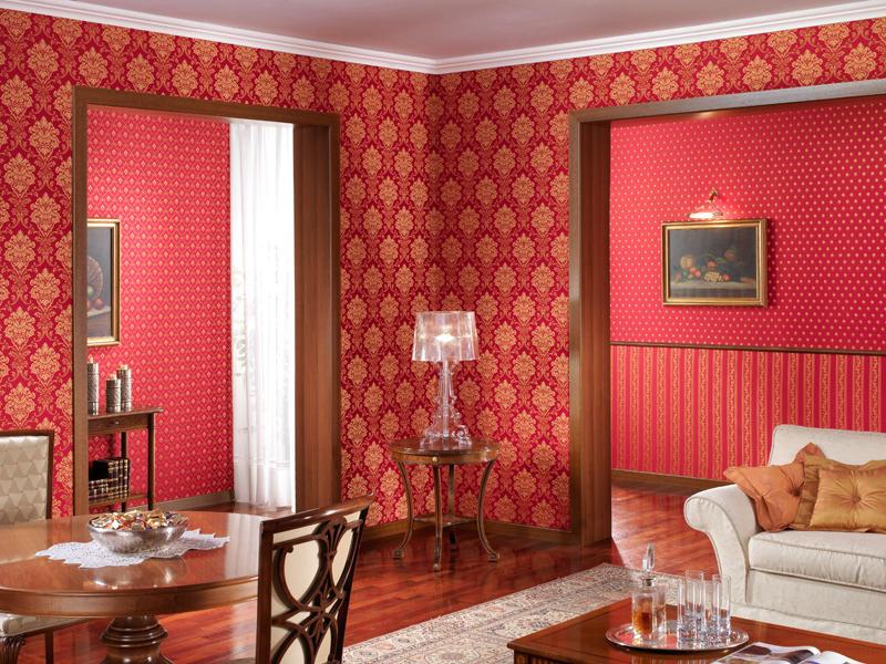 С помощью обоев, представленных различными стилями и направлениями, можно внести кардинальные изменения в интерьер жилого помещения