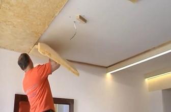 Шумоизоляция потолка обеспечит благоприятную и уютную обстановку в жилом помещении