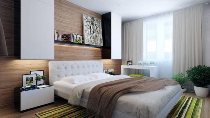 Дизайн маленькой спальни должен быть уютным, комфортным и функциональным