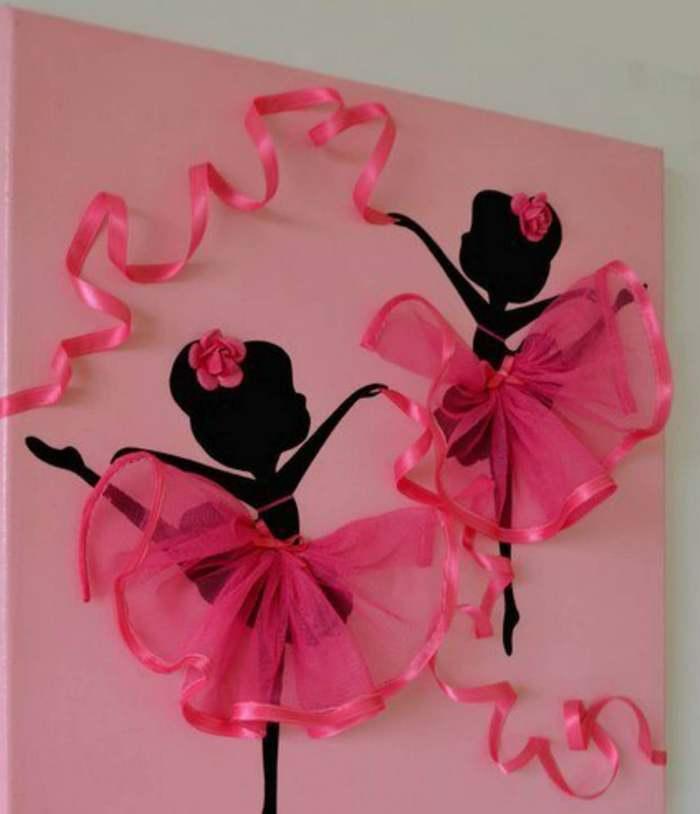 Панно балерина будет отлично смотреться на кухне, в гостиной или детской комнате