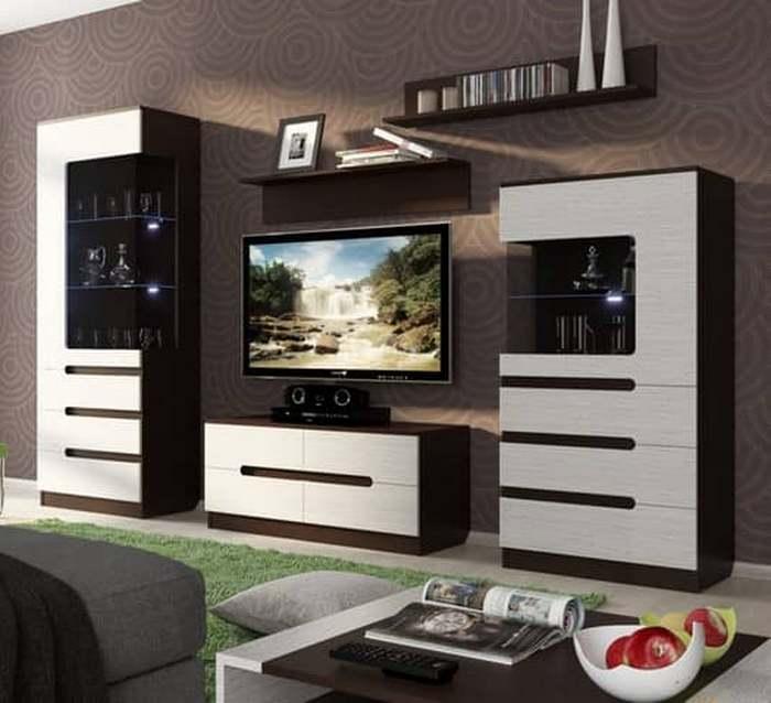 Модульная гостиная — превосходный вариант мебели, чтобы обставить маленькое помещение