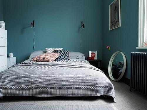 Спальня должна быть оформлена в комфортной для ее обладателя цветовой гамме