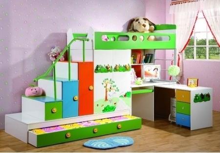 Большая радость для ребенка - это наличие собственной комнаты с оригинальными декоративными вещами и цветовой гаммой