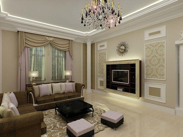 Красивая мебель в гостиной создаст определенное настроение для домочадцев
