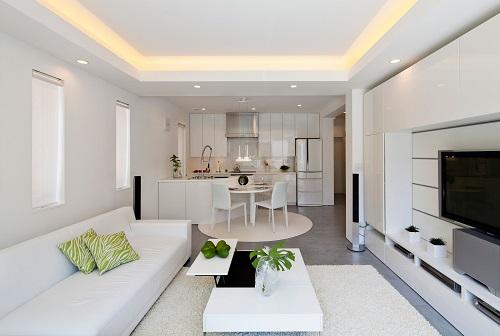 Создавая дизайн кухни-гостиной, следует воспользоваться современными дизайнерскими наработками