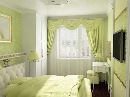 Небольшая спальня в 10 кв. м. может быть просторной и комфортной благодаря правильно подобранным цветам и рациональному расположению мебели