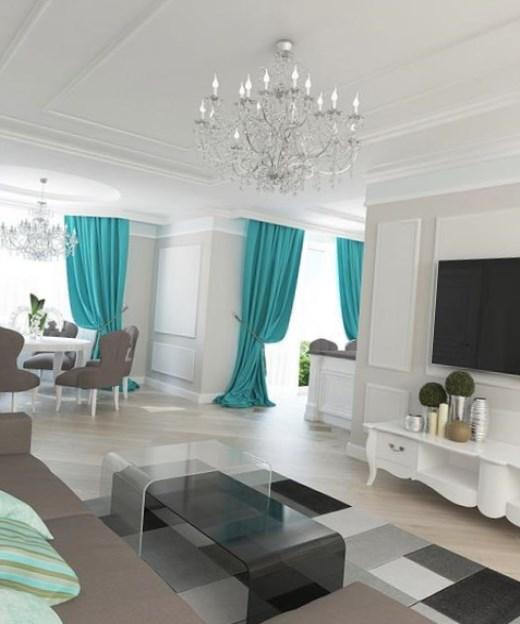 Объединение кухни-столовой-гостиной позволит по-максимуму использовать свободное пространство квартиры