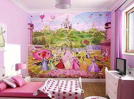 Красивые обои для детской комнаты | 333x450