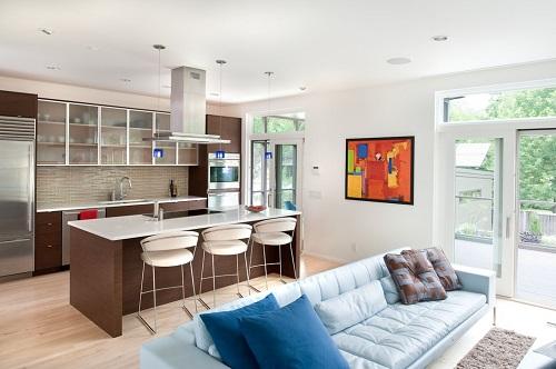 Дизайн кухни-гостиной должен быть функциональным и удобным, поэтому к его созданию необходимо подходить очень ответственно