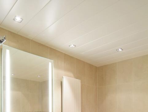 Выбирая потолок для ванной комнаты следует обращать внимание не только на внешний вид материала, который Вы хотите использовать, но и на его характеристики, в частности, водостойкость