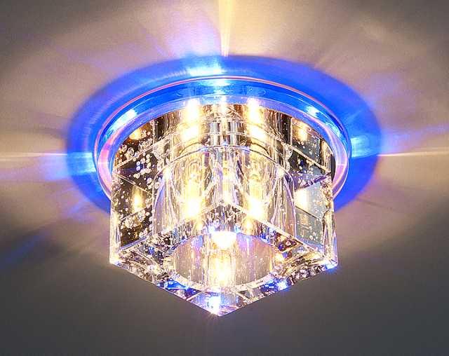 Выбор и установка освещения при натяжном покрытии не вызовет трудностей