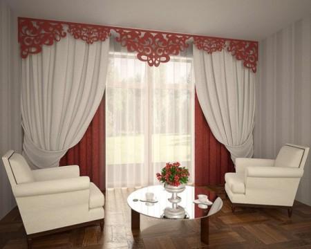 Креативные ламбрекены не только украсят ваше окно, но и сделают более оригинальными шторы и комнату