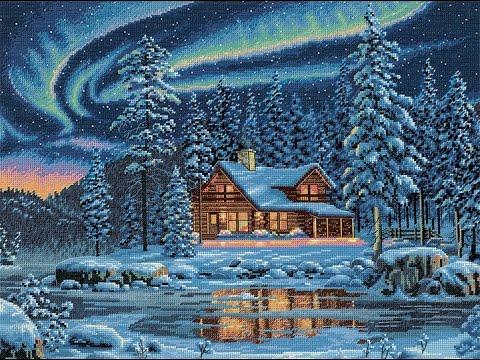 Картиной, вышитой крестиком, можно украсить интерьер комнаты или превратить ее в отличный подарок