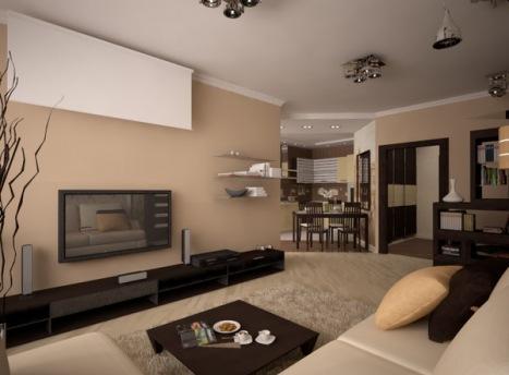 На гостиную необходимо потратить максимум сил и средств, чтобы она получилось идеальной