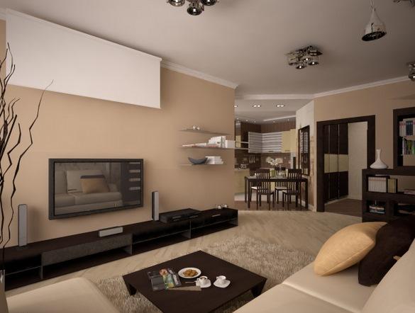 Оформляя зал, необходимо правильно подойти к выбору мебели и предметов декора