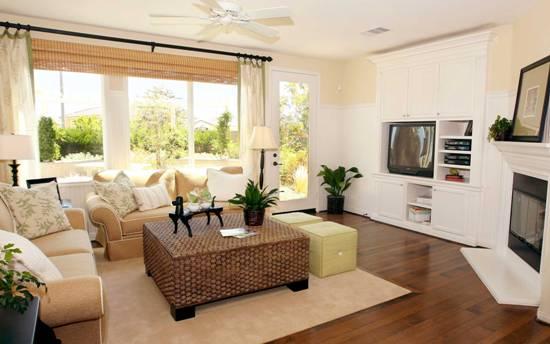 Гостиная является важной комнатой в доме, она должна быть оформлена в лучшем виде