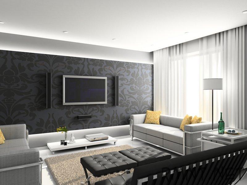 Интерьер зала должен формироваться тщательно, так как в этой комнате семья отдыхает и принимает гостей