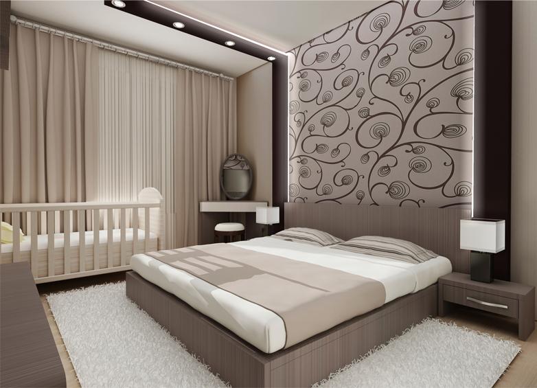 Перед тем, как бежать за покупками новых отделочных материалов, следует определиться с будущим дизайном спальни