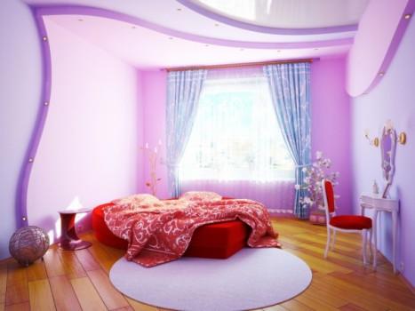 Придумать уникальный дизайн для спальни не сложно, главное, чтобы все было оформлено в одном стиле