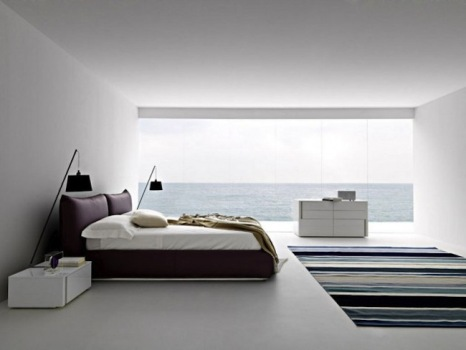 Стиль минимализм характеризуется маленьким количеством вещей и декора в комнате