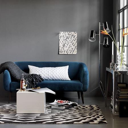 Интерьер в темных тонах привнесет нотки роскоши и комфорта в атмосферу дома