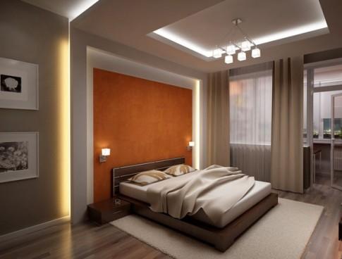 Планировать спальную комнату необходимо обдуманно, учитывая габариты помещения и его особенности