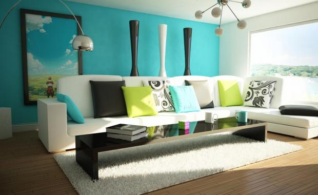 Гостинная комната может быть оформлена в определенном стиле с уникальными элементами декора
