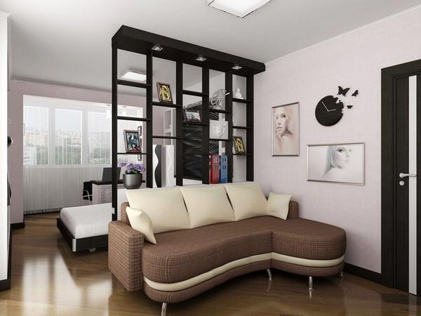 Зонировать комнаты сложно, но существует много способов, которые помогут вам сделать это быстро и качественно