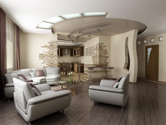 Зал - это центральная комната в квартире, поэтому ее ремонтом следует заниматься тщательно и обдуманно
