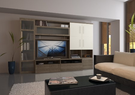 Мебель в гостиную следует подбирать, учитывая ее удобство и функциональность