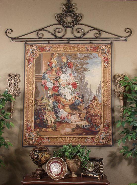 Гобеленовое панно – это произведение искусства, изумляющее своей красотой