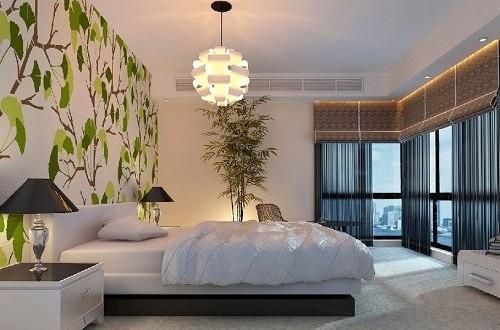 Обои в спальне являются важным элементом декора, ведь они создают особый уют и украшают комнату