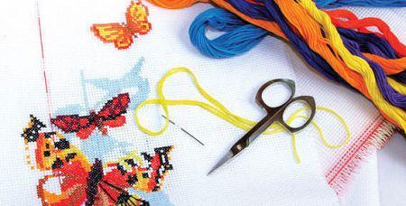 Вышивать крестом - это не только доступно и просто, но еще и невероятно увлекательно