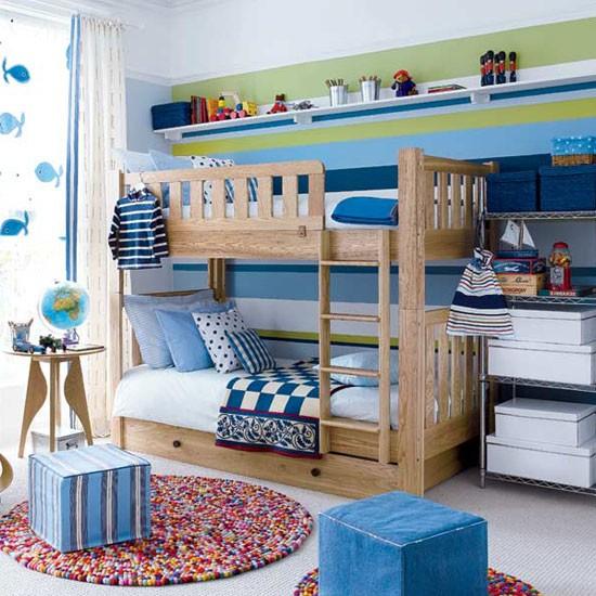 Даже в небольшой детской комнате можно создать атмосферу игр и сказок для вашего ребенка