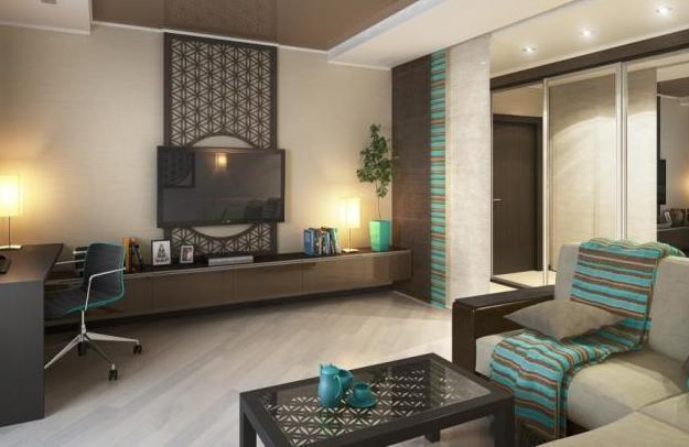 Правильно оформленная гостиная в хрущевке может стать стильной и уютной комнатой