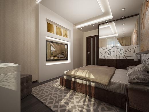 Спальня должна быть комфортной и уютной, независимо от размера и формы