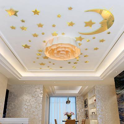 Наклейки на потолок - интересное решение, которое порадует не только детей, но и взрослых