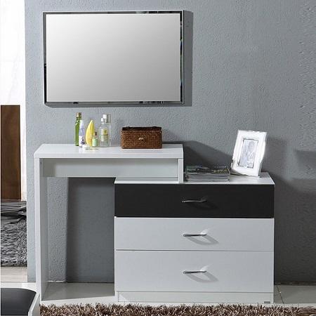 Туалетные столики являются очень удобным предметом мебели, поскольку они вместительны и занимают мало места