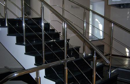 Любая лестница должна быть оборудована по правилам техники безопасности, чтобы избежать различных травм r*n