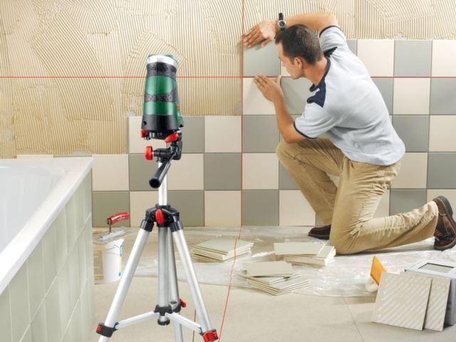 Технологический процесс укладки плитки на гипсокартон имеет свои особенности и намного  проще, чем на бетонную поверхность