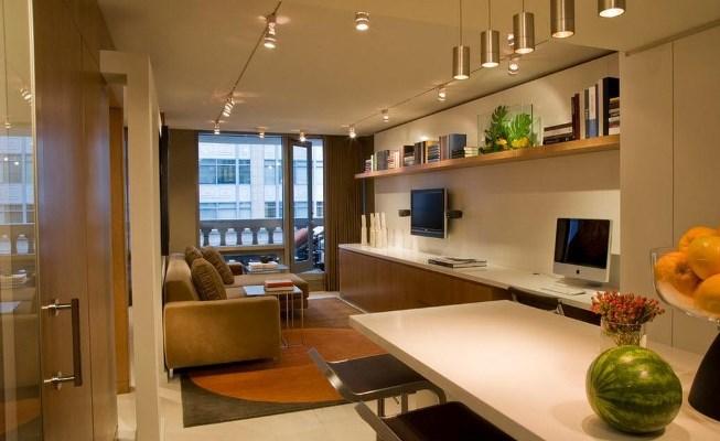 Правильная организация пространства в комнате поможет создать отдельные функциональные зоны в помещении