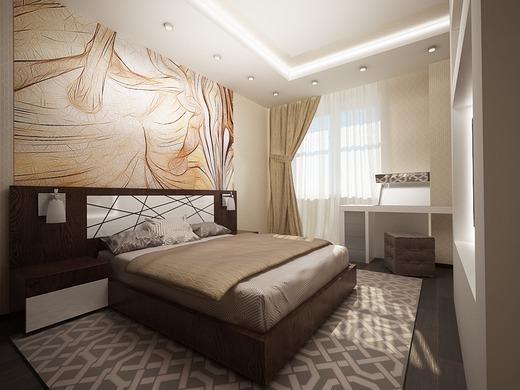 Делая ремонт в спальне, обязательно нужно продумать какими будут мебель, освещение и отделочные материалы