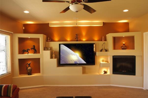 Ниша из гиспокартона — это прекрасный способ быстро и стильно преобразить интерьер комнаты